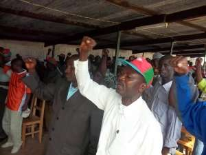 Réunion du parti CNDD à Bururi