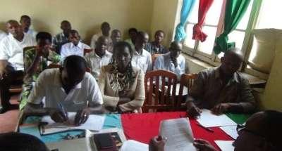 Réunion du comité exécutif et des représentants provinciaux du parti CNDD.