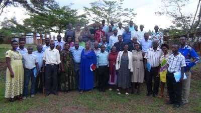 Atelier de formation des jeunes et des femmes du parti CNDD.