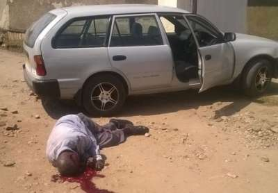 Assassinat d'un Colonel tutsi à la retraite.