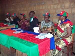 Réunion du parti CNDD à Bubanza