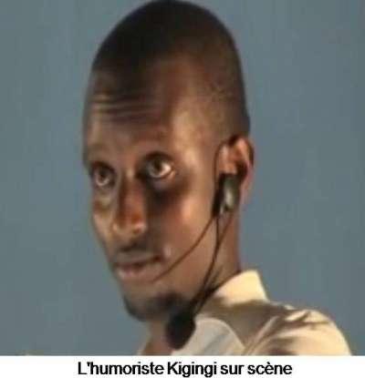 Burundi: arrestation de l'humoriste Kigingi.