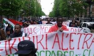 Quelques images de la manifestation de Bruxelles organisée par l'ADC IKIBIRI à l' étranger ce  mercredi 29 avril 2015