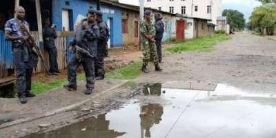 Burundi: au moins 100 personnes arrêtées dans des rafles devenues quasi-quotidiennes.