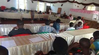 Réunion des représentants communaux de la JPD de la province de Makamba