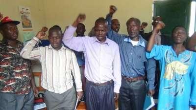 Réunion du parti CNDD avec les représentants provinciaux.